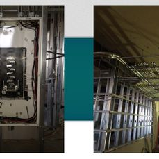 Panel and new construction wiring